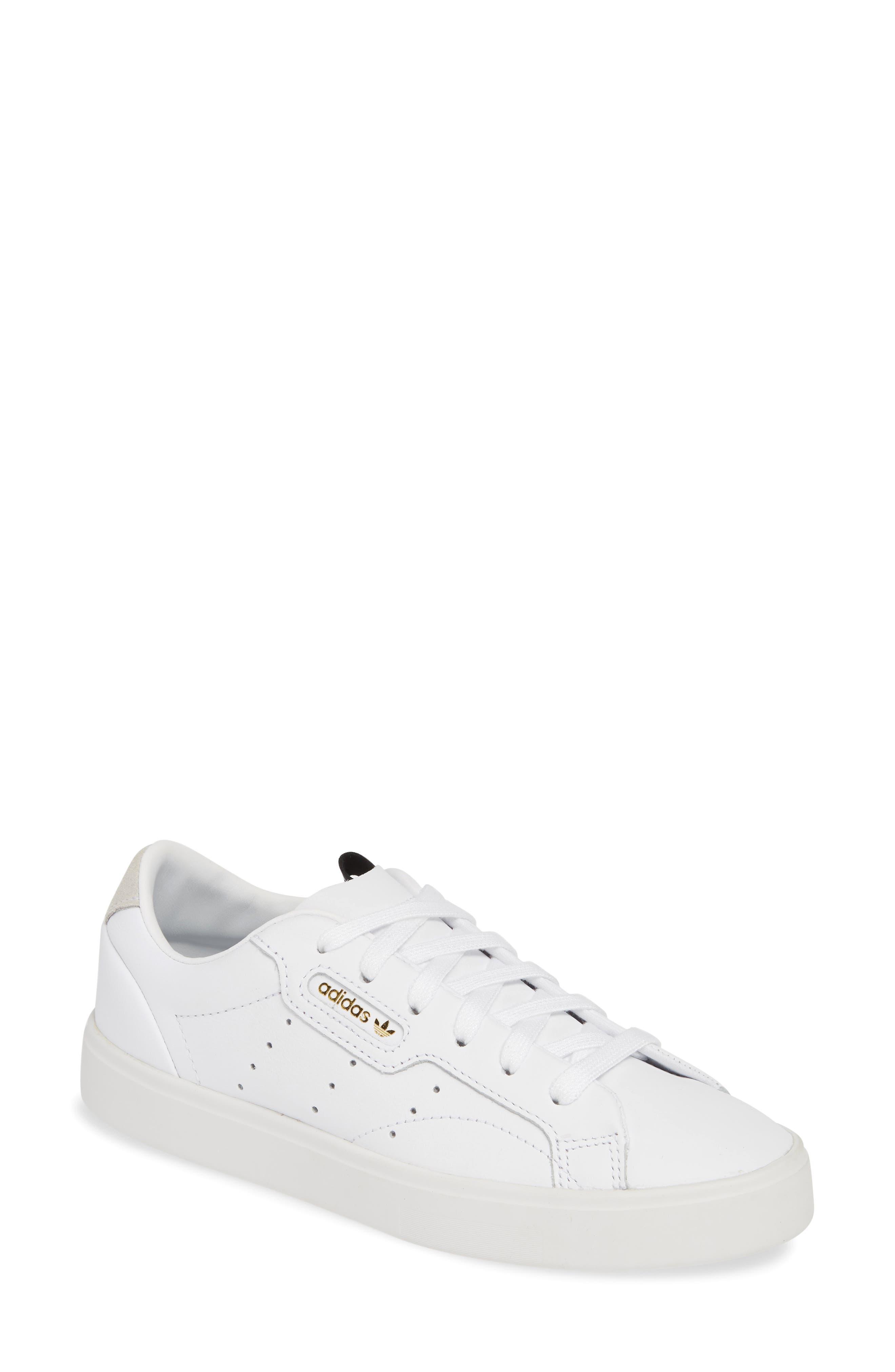 adidas Sleek Leather Sneaker (Women