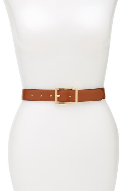 Image of Calvin Klein Reversible Faux Leather Belt