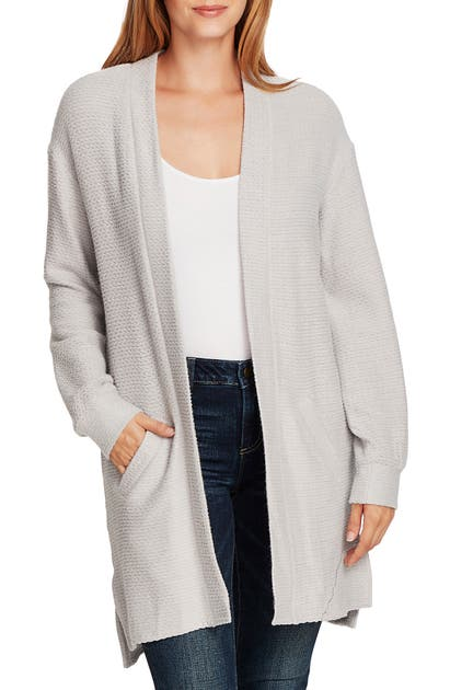 Vince Camuto Knits CINCH BACK CABLE KNIT CARDIGAN