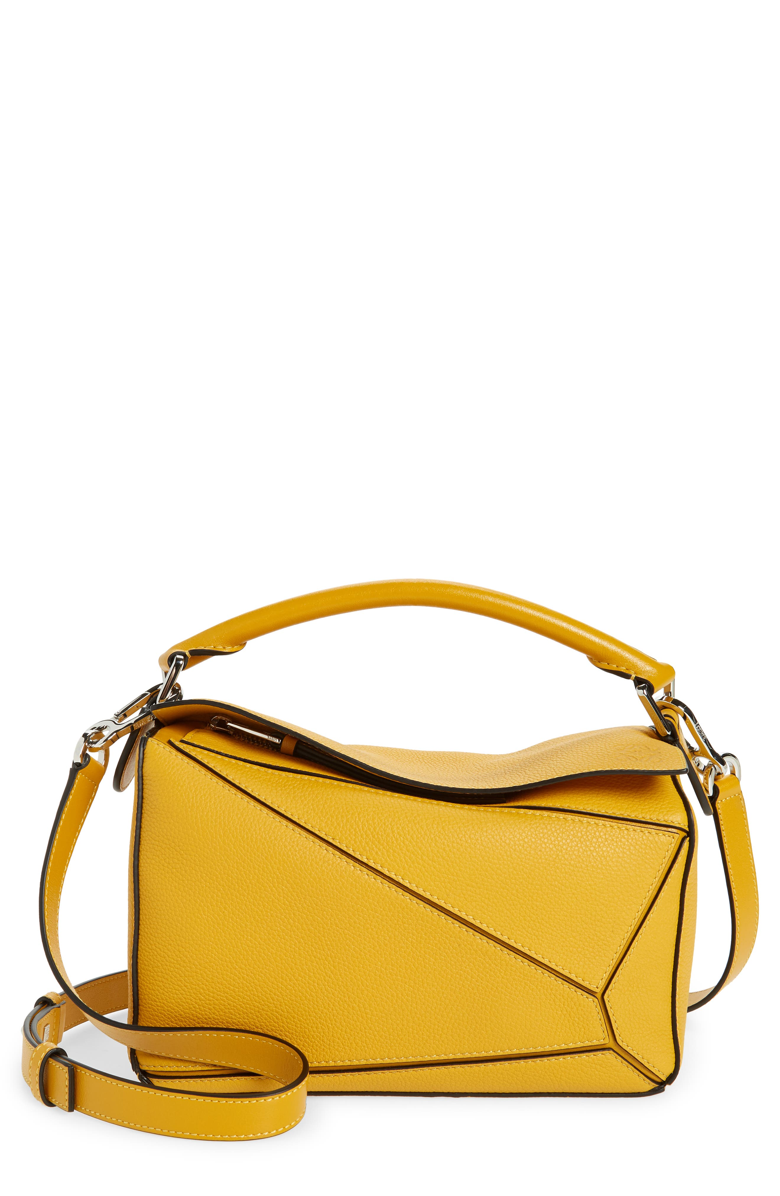 Loewe Small Puzzle Leather Shoulder Bag   Nordstrom