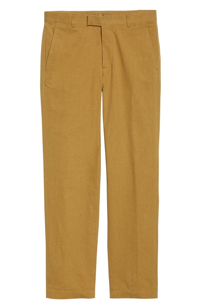 ENTIREWORLD Flat Front Trousers, Main, color, 250