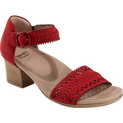 Earth Seneca Sandal, Red