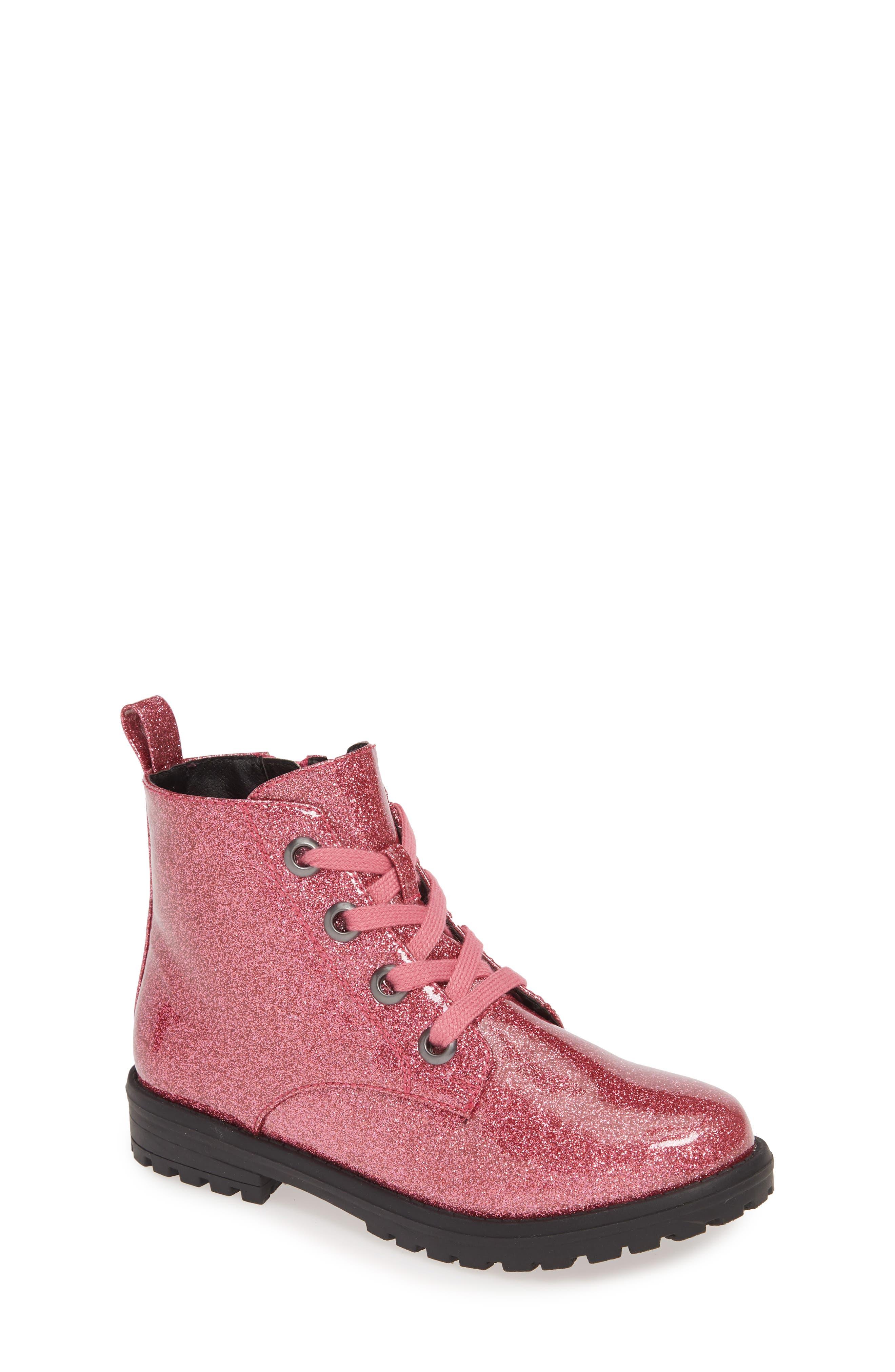 Toddler Girls Tucker  Tate Maisie Glitter Bootie Size 9 M  Pink