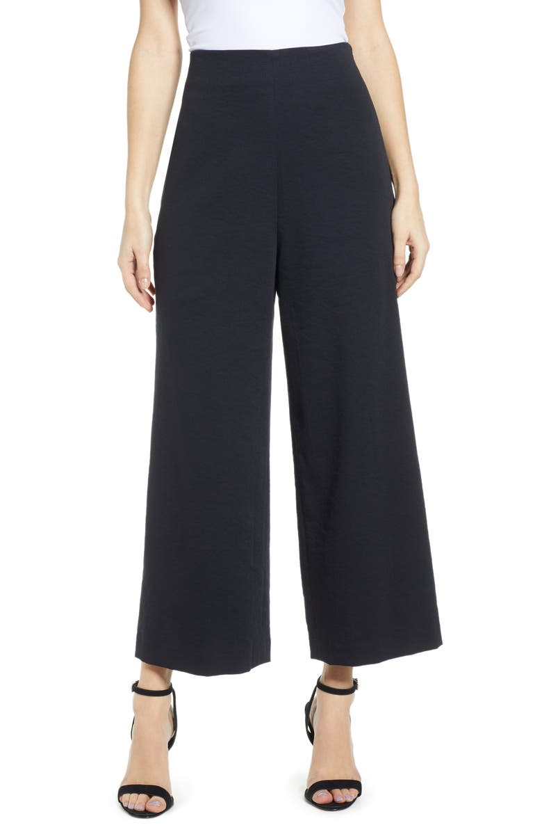 LEITH Wide Leg Pants, Main, color, 001