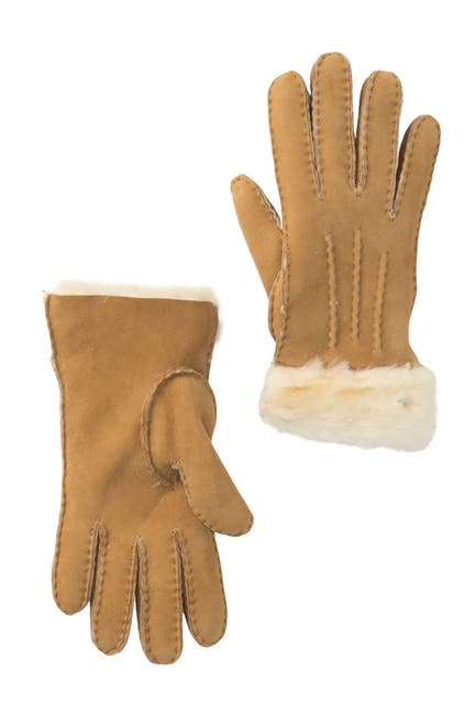 Image of UGG Classic Tasman Genuine Shearling Gloves