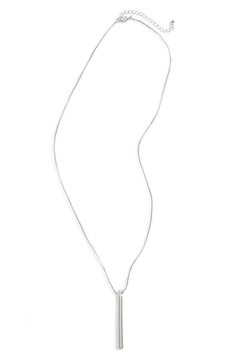 BP. Bar Pendant Necklace, Main, color, 040