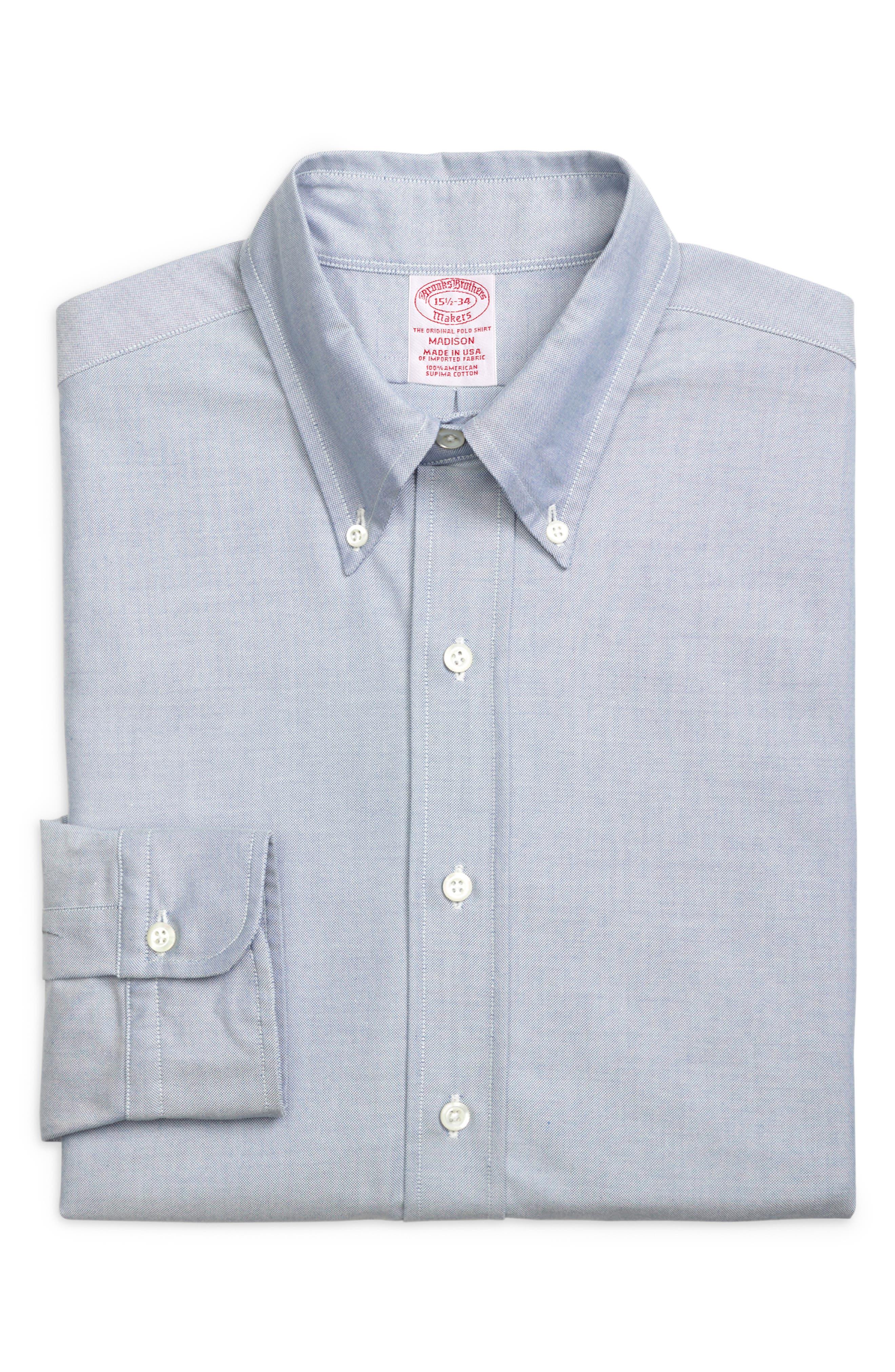 Madison Classic Fit Solid Dress Shirt