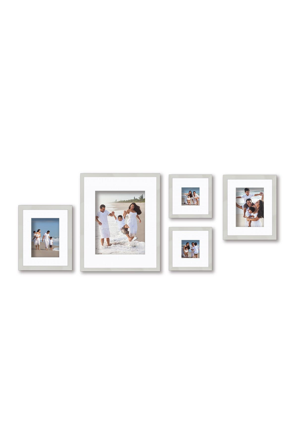 COURTSIDE MARKET Harvest Collection French White 5-Piece Wall Frame Set at Nordstrom Rack