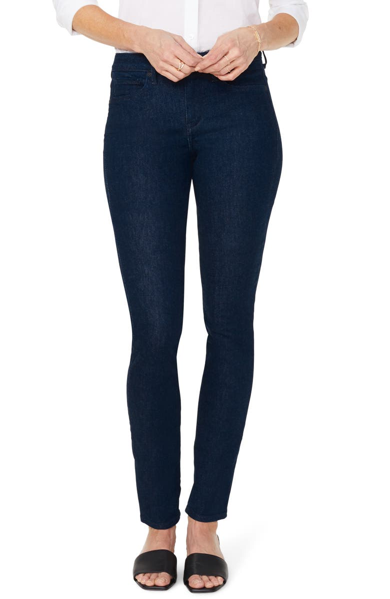 NYDJ Alina Stretch Skinny Jeans, Main, color, RINSE