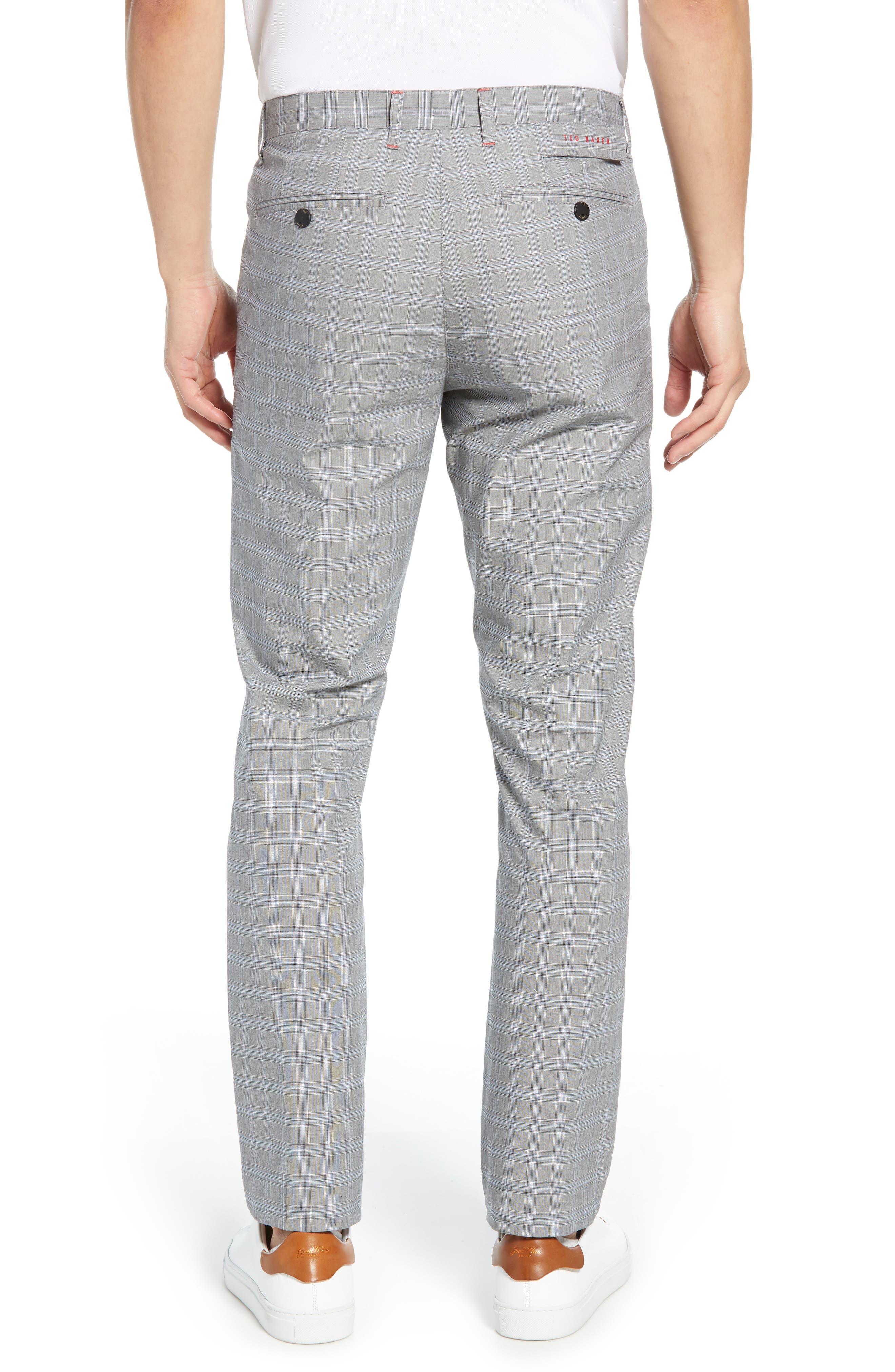 ,                             Snoopd Slim Fit Check Golf Pants,                             Alternate thumbnail 2, color,                             GREY