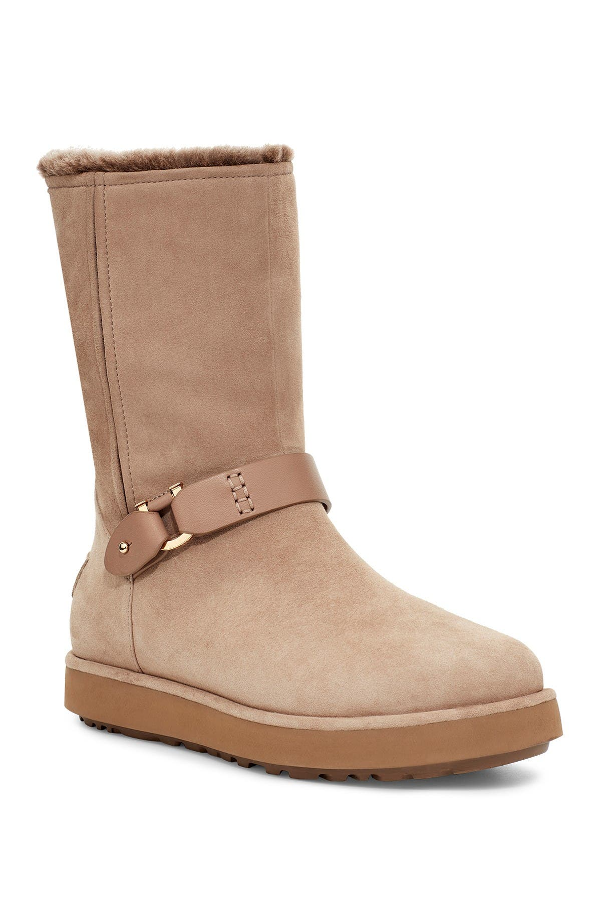 UGG Classic Berge Genuine Shearling Lined Boot