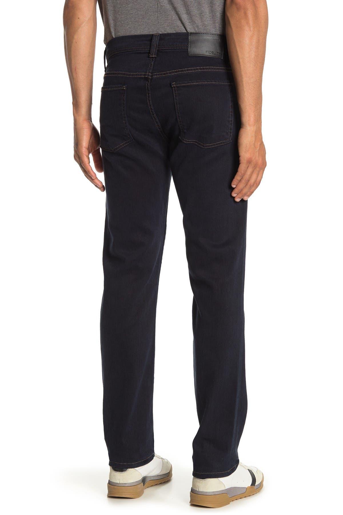 FIDELITY DENIM Jimmy Slim Staight Denim Jeans