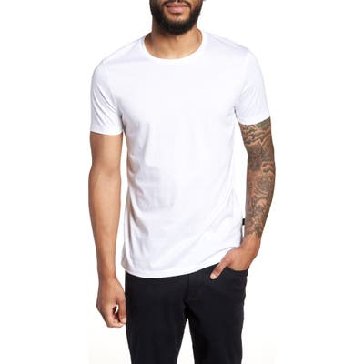 Boss Tessler Slim Fit Crewneck T-Shirt, White