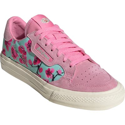 Adidas Originals X Arizona Iced Tea Continental Vulc Sneaker, Pink