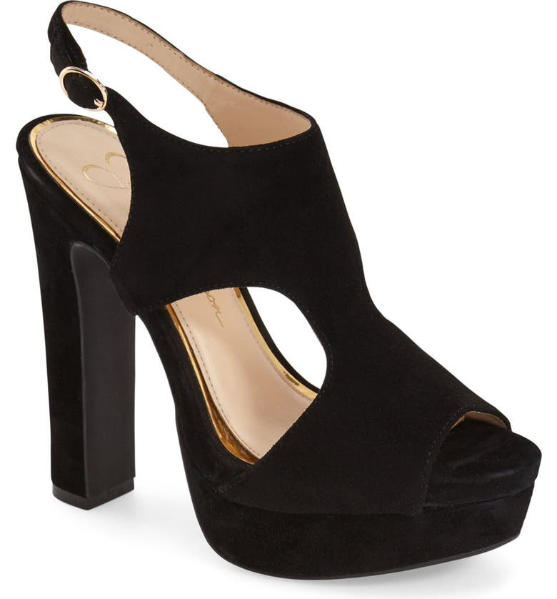 JESSICA SIMPSON 'Barrow' Platform Sandal, Main, color, 001
