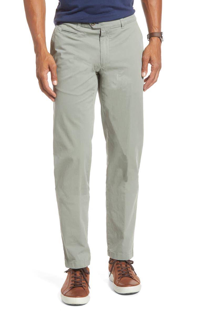 BRAX Everest Straight Leg Dress Pants, Main, color, JUNGLE