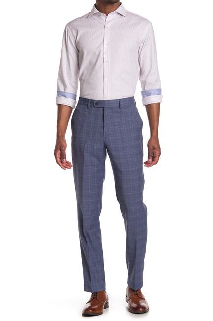 Image of Original Penguin Bright Blue Slim Fit Suit Separates Trousers