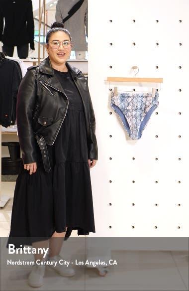 Vienna High Waist Tie Dye Bikini Bottoms, sales video thumbnail