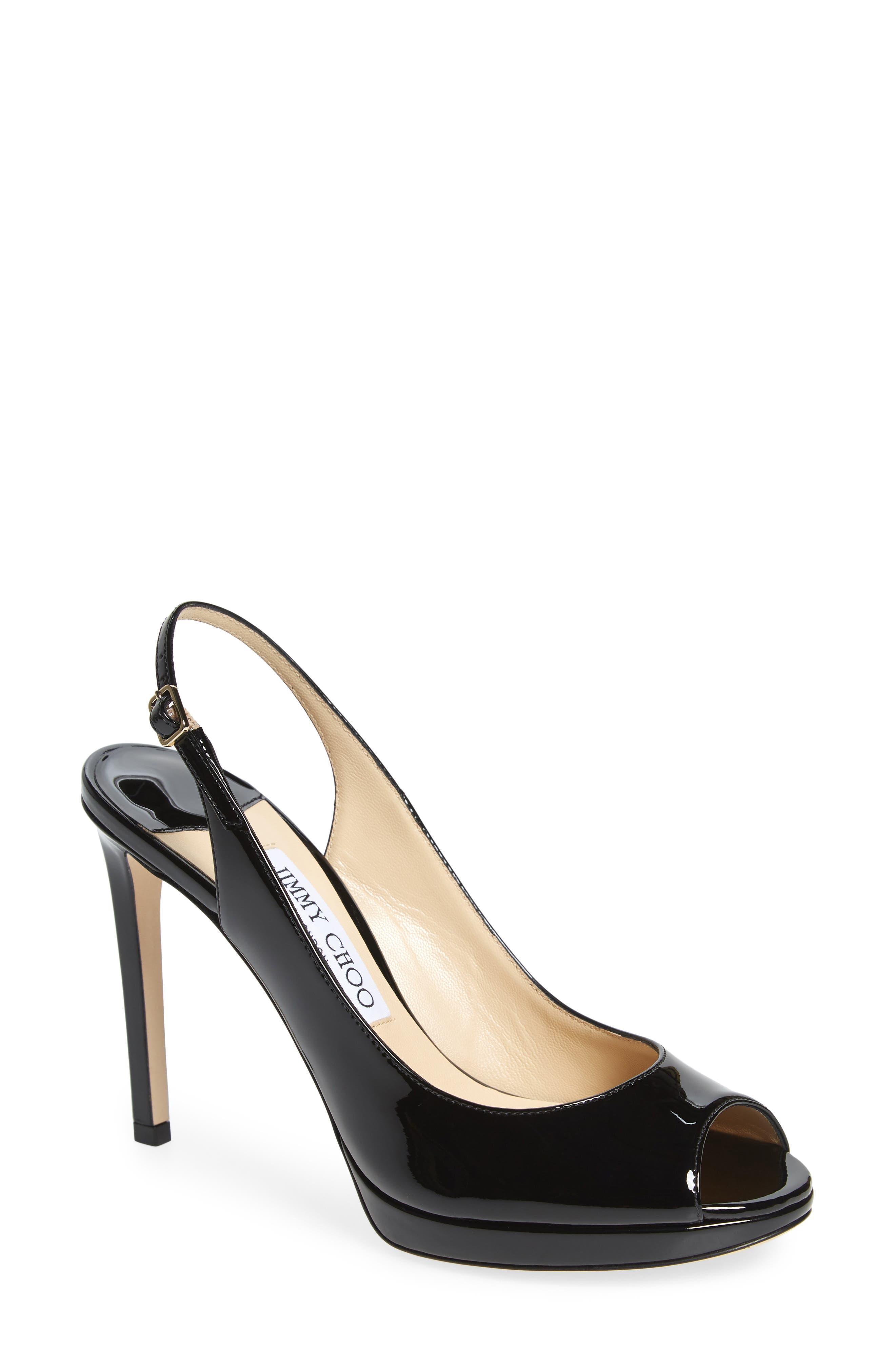 Jimmy Choo Nova Slingback Platform Sandal (Women)
