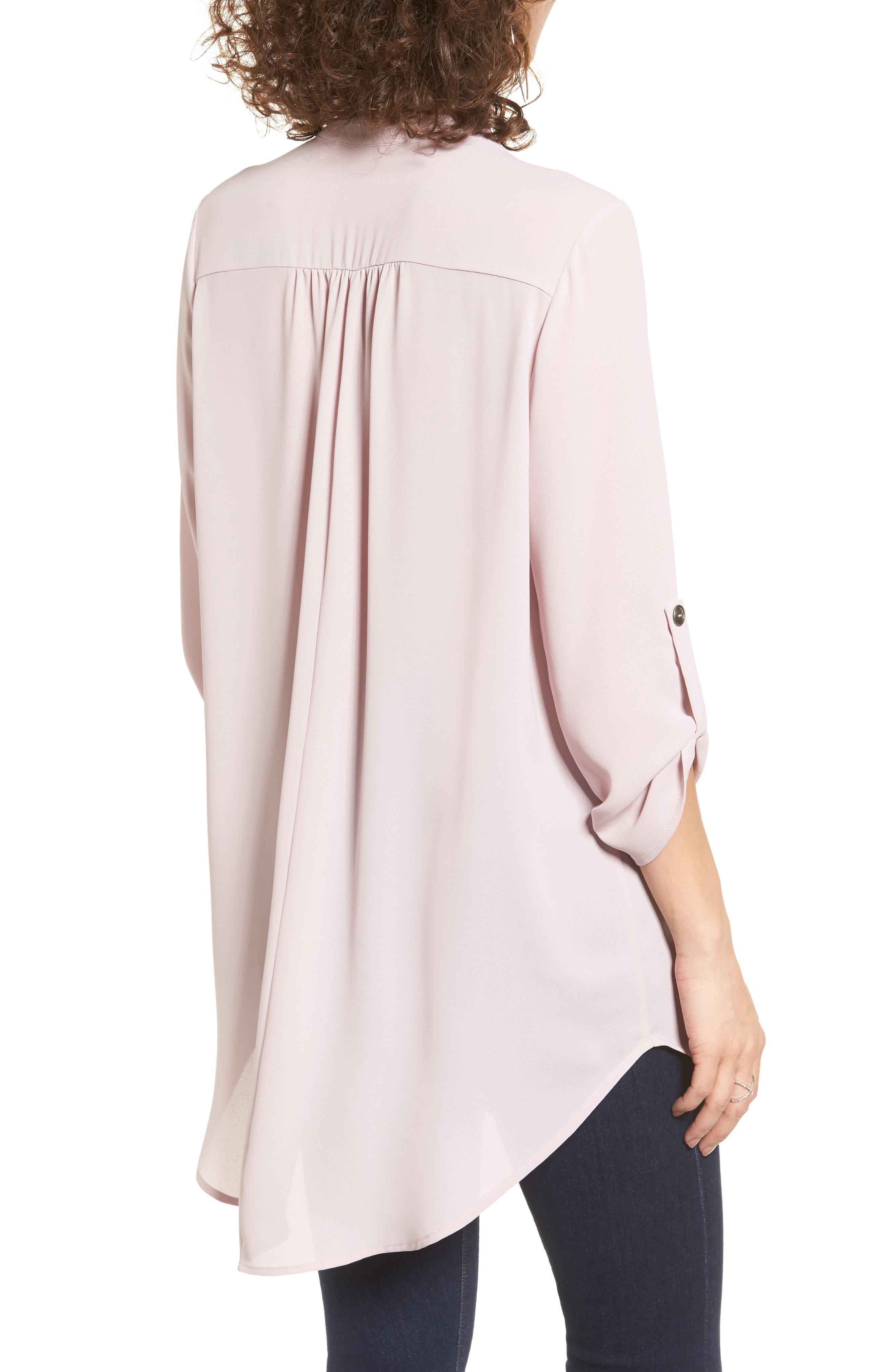 ,                             Perfect Roll Tab Sleeve Tunic,                             Alternate thumbnail 325, color,                             530