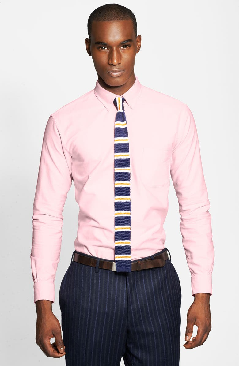 BROOKS BROTHERS Oxford Shirt, Main, color, 650