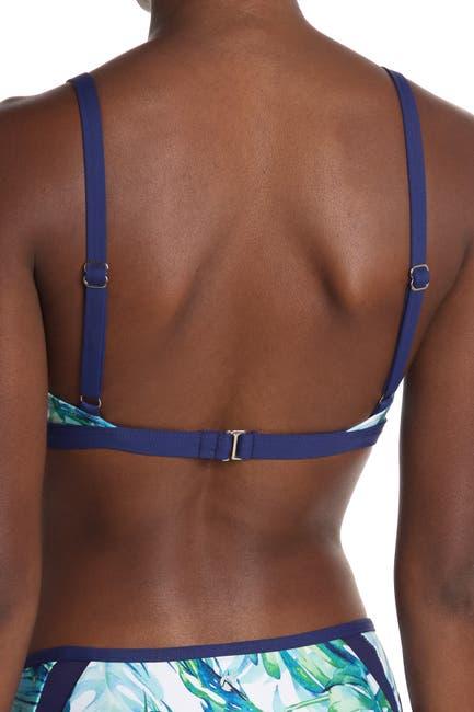 Image of NEXT Staycation Patterned Bikini Top