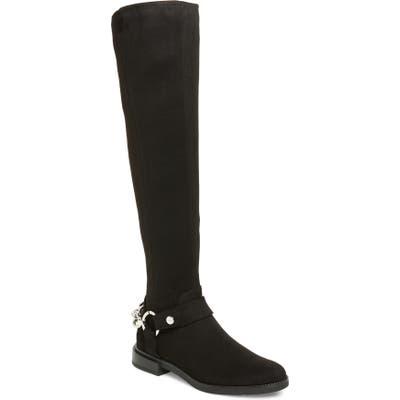 Calvin Klein Akia Over The Knee Boot, Black