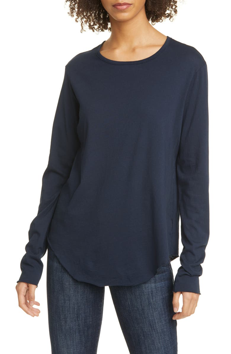 FRANK & EILEEN Tee Lab Long Sleeve T-Shirt, Main, color, LONG SLEEVE FITTED CREW TEE