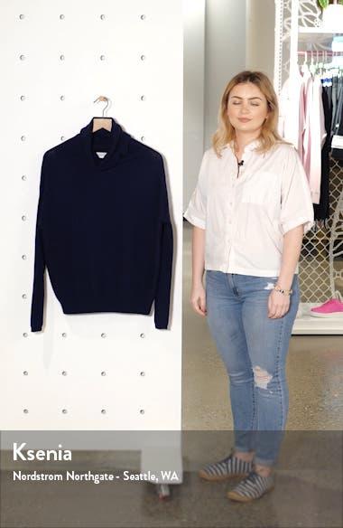 Scrunch Neck Cashmere Sweater, sales video thumbnail