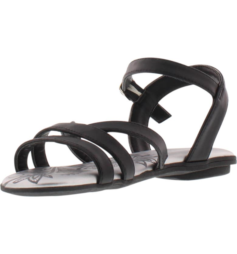 REACTION KENNETH COLE Bright Lilly Strappy Sandal, Main, color, BLACK