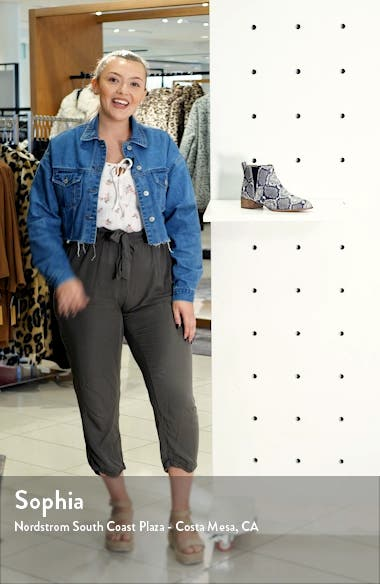 The Carina Bootie, sales video thumbnail