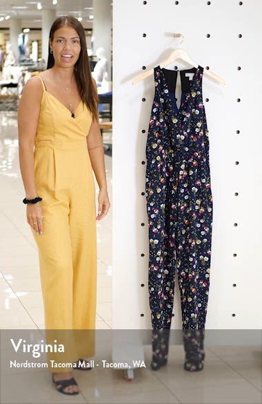 Sleeveless Tie Waist Jumpsuit, sales video thumbnail