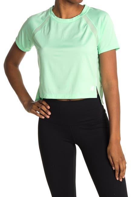 Image of New Balance Fast Running Crop T-Shirt