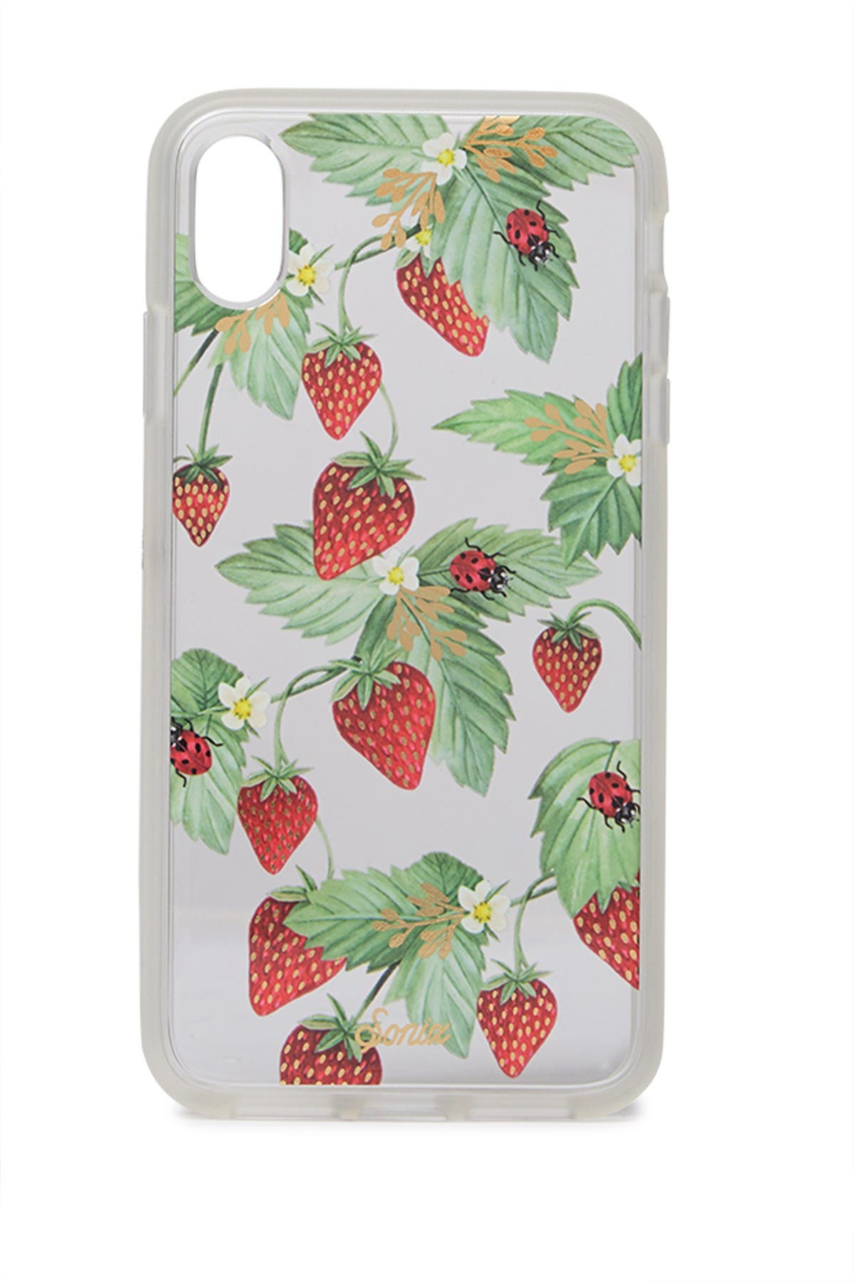 Image of SONIX Strawberry iPhone XS Max Case