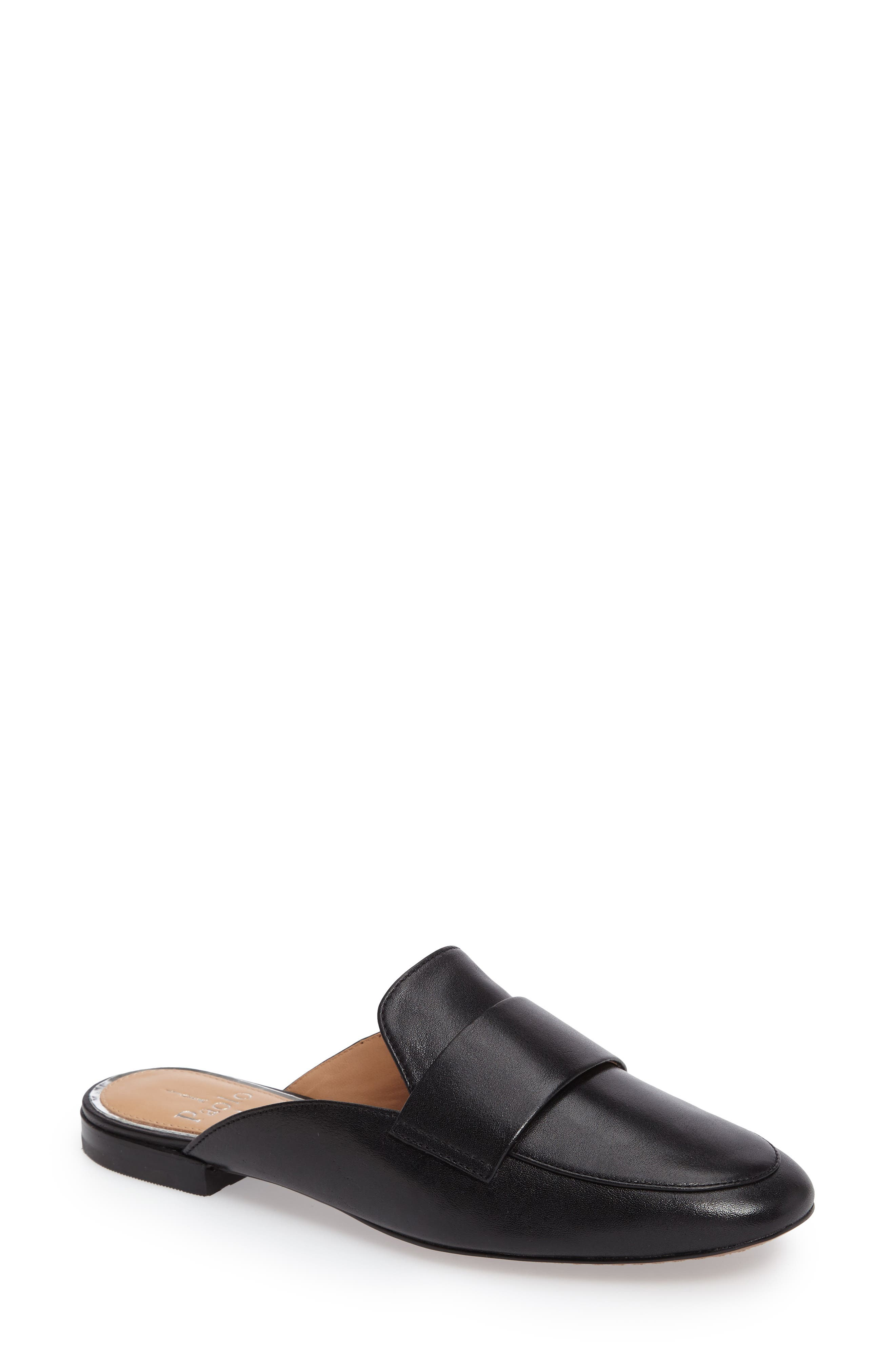 Linea Paolo Annie Loafer Mule- Black