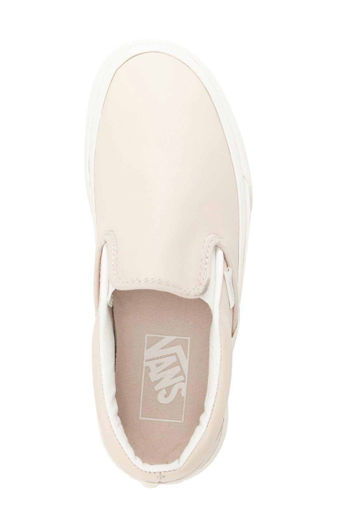 ,                             Classic Slip-On Sneaker,                             Alternate thumbnail 409, color,                             655