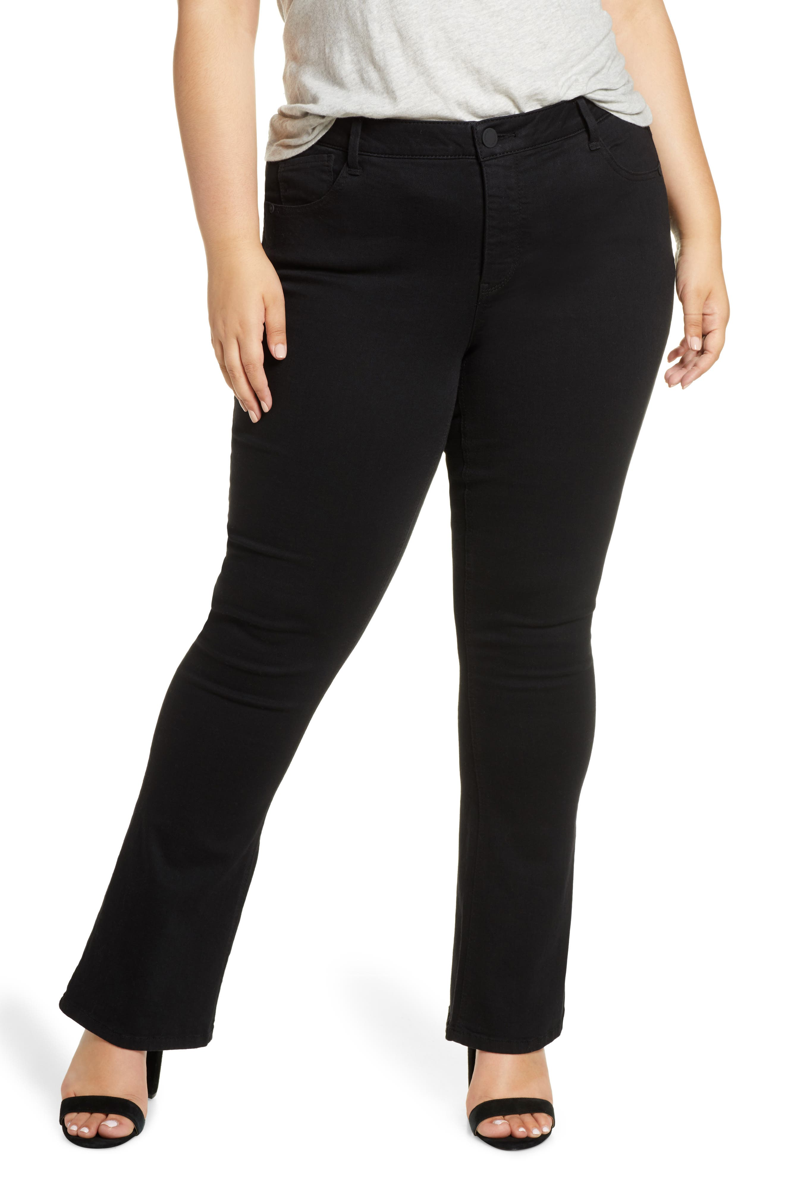 Wit & Wisdom Ab-solution Itty Bitty Bootcut Jeans (Plus Size) (Nordstrom Exclusive)