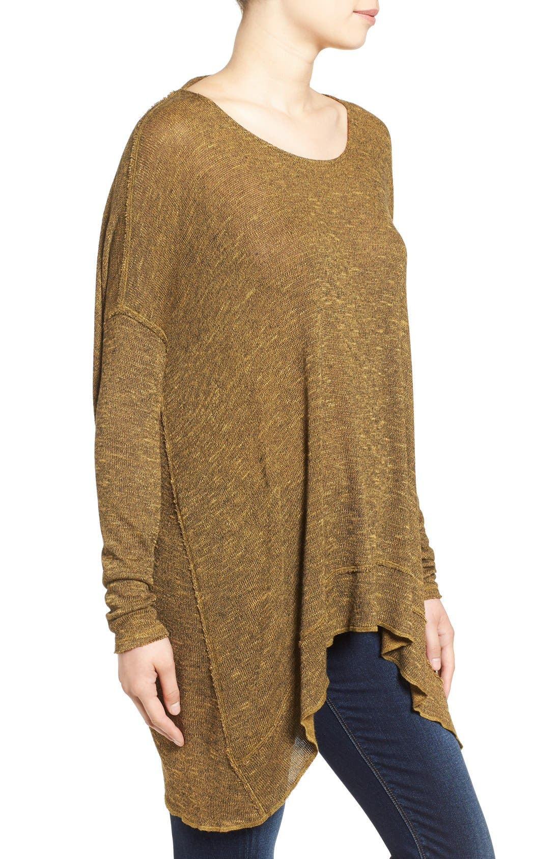 ,                             'Shadow' Oversize Hacci Open Back Top,                             Alternate thumbnail 23, color,                             730