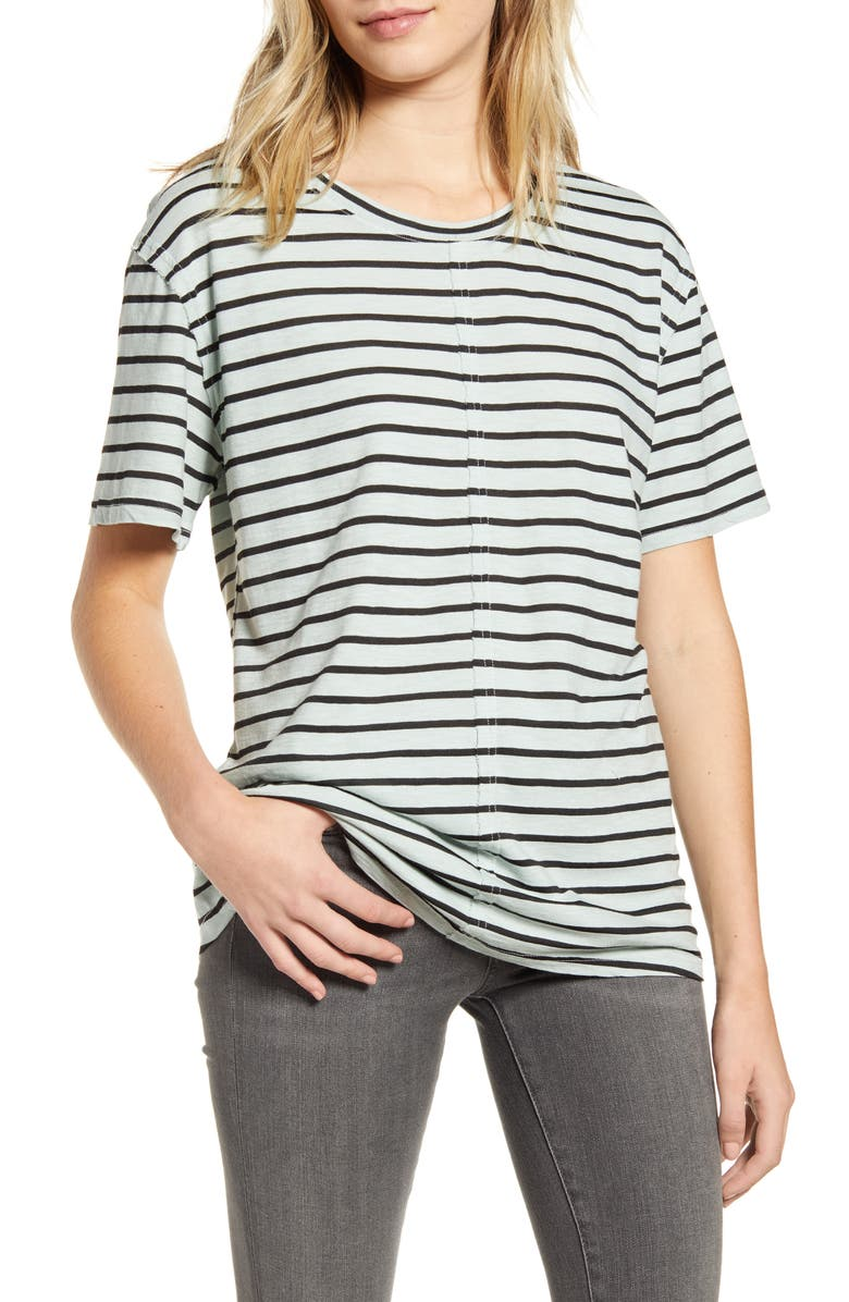 SPLENDID Crewneck Tee, Main, color, SEAFOAM