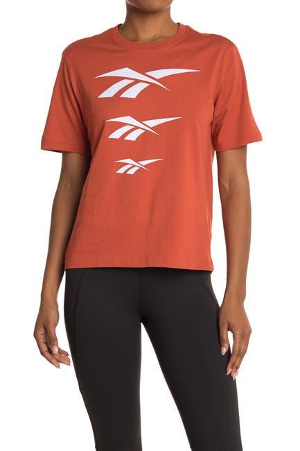 Image of Reebok Vector Repeat Logo Graphic T-Shirt
