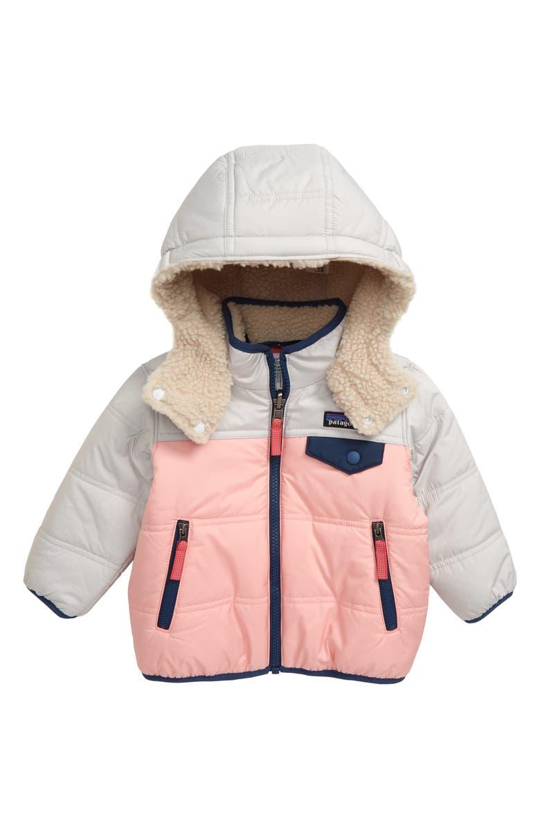 PATAGONIA Tribbles Reversible Jacket, Main, color, ROSP ROSEBUD PINK