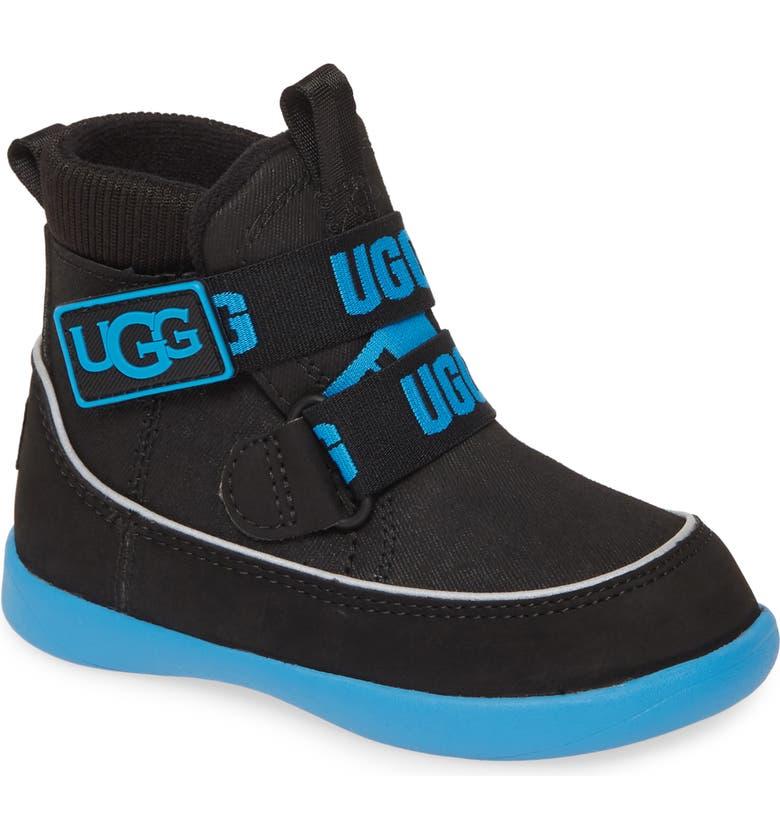 UGG<SUP>®</SUP> Tabor Waterproof Bootie, Main, color, BLACK