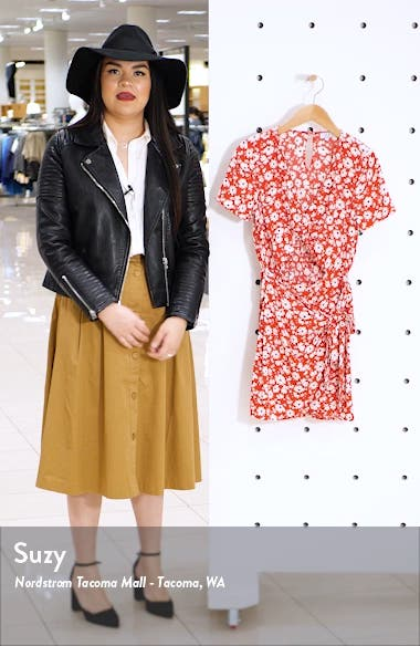 Front Twist Minidress, sales video thumbnail