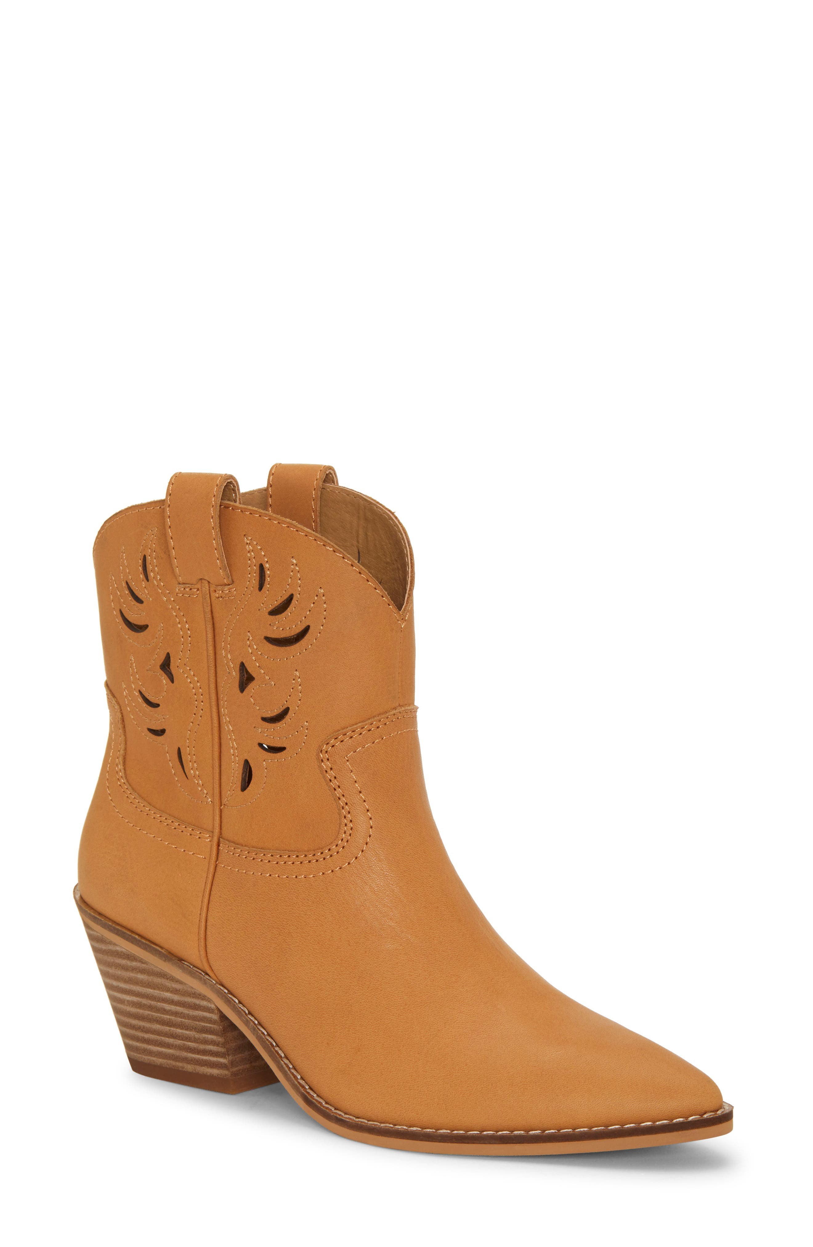 Lucky Brand Talouse Western Boot- Brown