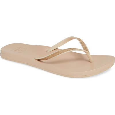 Reef Cushion Bounce Stargazer Flip Flop, Beige