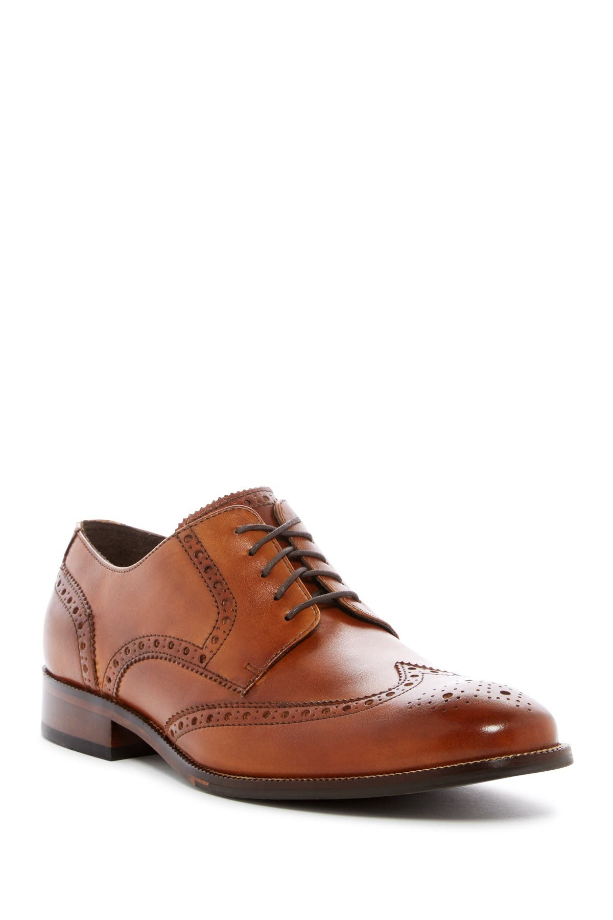 Image of Cole Haan Benton Leather Wingtip Derby II - Wide Width Available