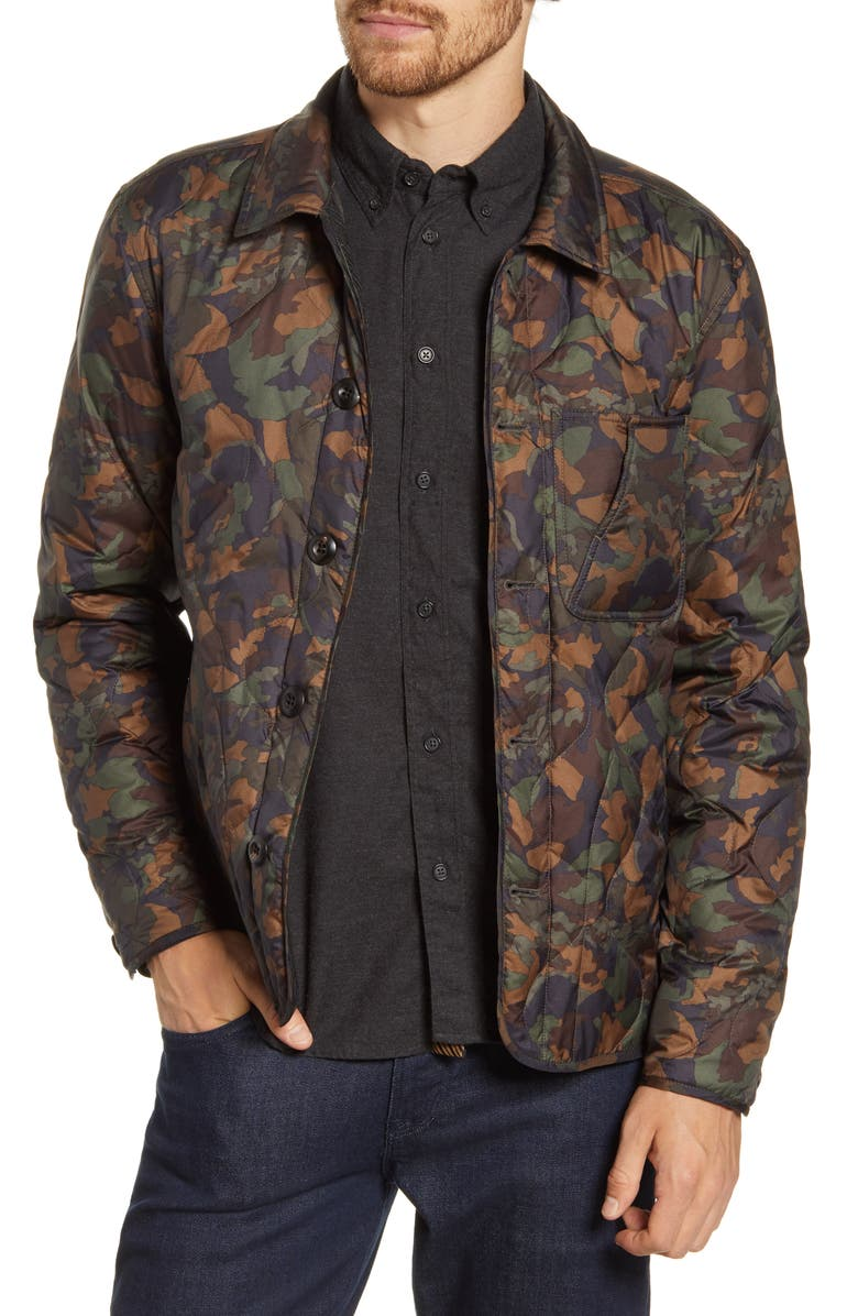 BILLY REID Camellia Packable Down Shirt Jacket, Main, color, 408