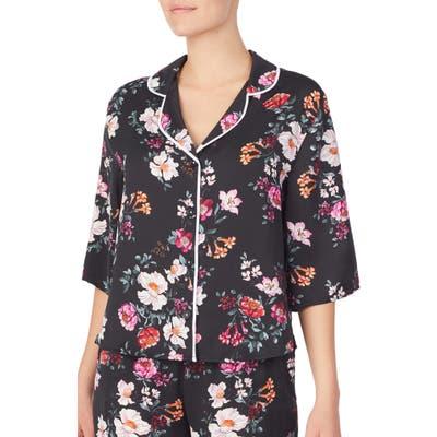 Room Service Pajama Top, Black (Nordstrom Exclusive)