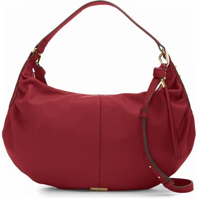Vince Camuto Lysa Leather Hobo - Red
