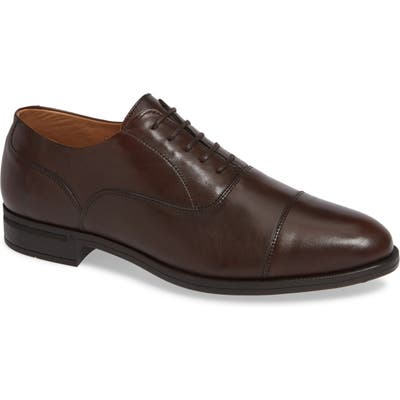 Vince Camuto Iven Cap Toe Oxford- Brown